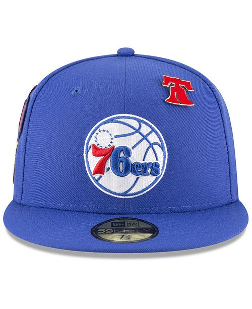 888a622a422 New Era Philadelphia 76ers On-Court Collection 59FIFTY FITTED Cap ...