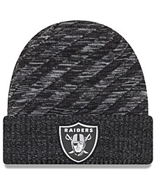 Oakland Raiders Touch Down Knit Hat