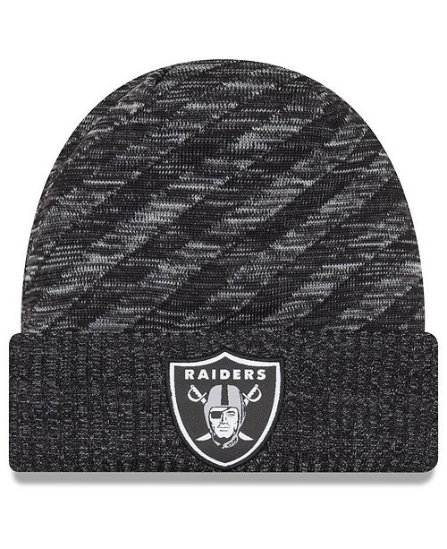 New Era Oakland Raiders Touch Down Knit Hat
