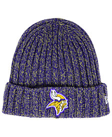New Era Women's Minnesota Vikings On Field Knit Hat