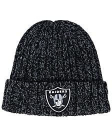 Women's Oakland Raiders On Field Knit Hat