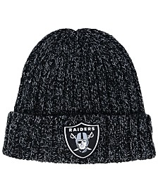 New Era Women's Oakland Raiders On Field Knit Hat