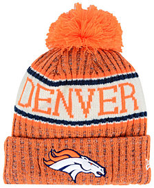 New Era Boys' Denver Broncos Sport Knit Hat