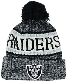 New Era Boys' Oakland Raiders Sport Knit Hat