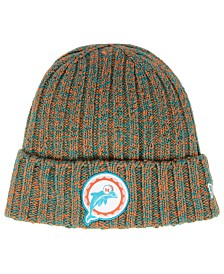 New Era Women's Miami Dolphins On Field Knit Hat