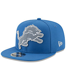 New Era Detroit Lions Meshed Mix 9FIFTY Snapback Cap