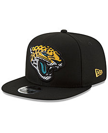 New Era Jacksonville Jaguars Meshed Mix 9FIFTY Snapback Cap