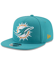 New Era Miami Dolphins Meshed Mix 9FIFTY Snapback Cap