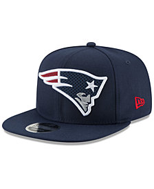 New Era New England Patriots Meshed Mix 9FIFTY Snapback Cap