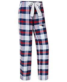 Women's New England Patriots Headway Flannel Pajama Pants