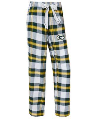 Concepts Sport Womens Green Bay Packers Ladies Fleece Lounge Pants