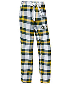 Concepts Sport Women's Green Bay Packers Headway Flannel Pajama Pants