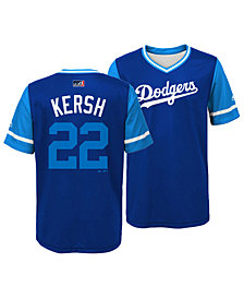 Majestic Clayton Kershaw Los Angeles Dodgers Players Weekend Jersey, Big Boys (8-20)