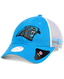 New Era Women's Carolina Panthers Trucker Shine 9TWENTY Cap