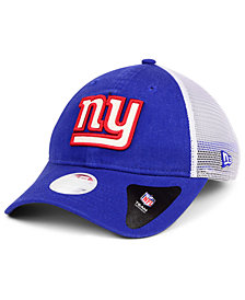 New Era Women's New York Giants Trucker Shine 9TWENTY Cap