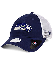 New Era Women's Seattle Seahawks Trucker Shine 9TWENTY Cap