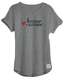 Retro Brand Oklahoma Sooners Rolled Sleeve T-Shirt, Girls (4-16)