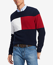 Tommy Hilfiger Men's Clayton Colorblocked Sweater, Created for Macy's