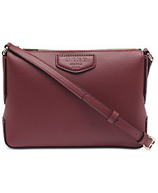 DKNY Sullivan Top-Zip Crossbody, Created for Macy's