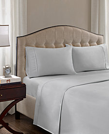 Madison Park 1500 Thread Count 4-PC Queen Cotton Blend Sheet Set