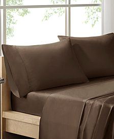 Sleep Philosophy 300 Thread Count Liquid Cotton 4-PC Full Sheet Set