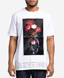Hudson NYC Men's Skull Vase Graphic T-Shirt