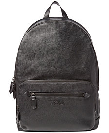 Polo Ralph Lauren Men's Pebbled Backpack