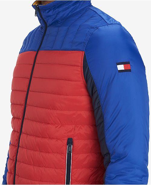 e7ca16b8 Tommy Hilfiger Men's Wilshire Colorblocked Insulator Jacket ...