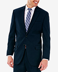 J.M. Haggar Sharkskin Classic-Fit Suit Jacket