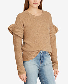 Lauren Ralph Lauren Ruffled Sweater