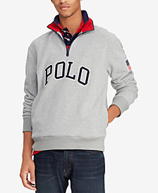 Polo Ralph Lauren Men's Big & Tall Logo Graphic Pullover