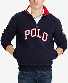 Polo Ralph Lauren Men's Big & Tall Logo Graphic Pullover