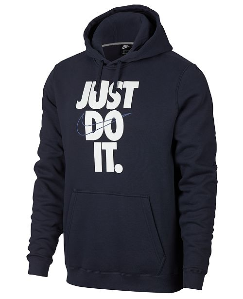 Nike Men s Sportswear Just Do It Hoodie - Hoodies   Sweatshirts ... 4cb0f4fd7de1