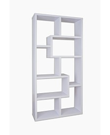 Taki Modern Open Bookcase