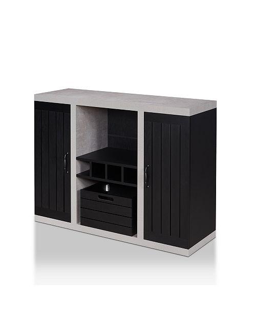 Furniture of America Vando Industrial Buffet