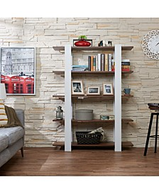 Bess Modern 5-Shelf Bookcase