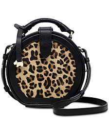 Radley London Witley Leopard-Print Leather Crossbody