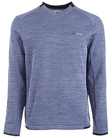 Attack Life by Greg Norman Men's Herringbone Double Zip Sweater, Created for Macy's