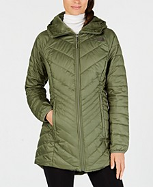 Women's Mossbud Hooded Fleece-Lined Reversible Parka
