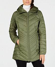 The North Face Mossbud Hooded Fleece-Lined Reversible Parka