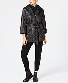 Eileen Fisher Quilted Jacket, Sweater & Slim-Leg Pants