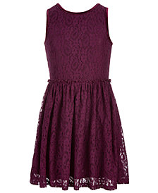 Epic Threads Big Girls Fit & Flare Lace Dress, Created for Macy's