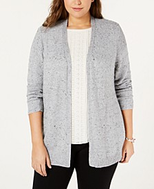 Belle by Plus Size Open-Front Cardigan