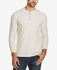 Weatherproof Vintage Men's Heathered Henley