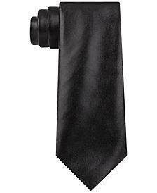 DKNY Men's Solid Slim Tie