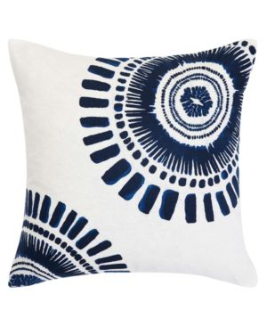 Trina Turk Samba De Roda Circle Embroidered Square Pillow Bedding 6245791