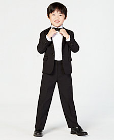 Nautica 4-Piece Tuxedo Suit, Shirt & Bowtie, Little Boys
