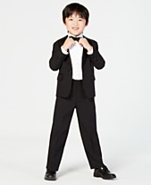 6a1b79066e Nautica 4-Piece Tuxedo Suit, Shirt & Bowtie, Little Boys
