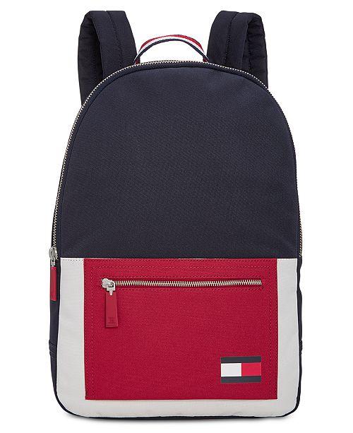 Tommy Hilfiger Men's Carter Colorblocked Backpack