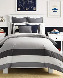 Nautica Heritage Signal Stripe Comforter and Duvet Set Collection